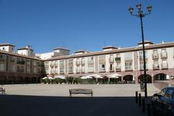6. The Plaza Mayor in Huercal Overa